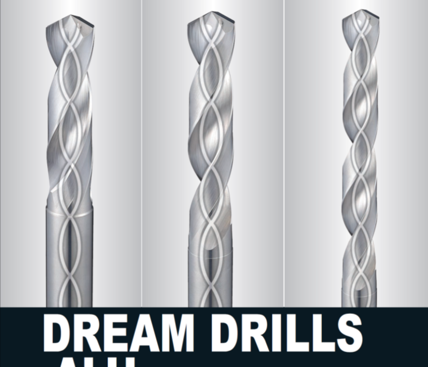 MŨI KHOAN DREAM DRILLS ALU