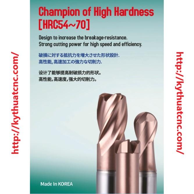Hãng sản xuất :COGO   Xuất xứ :Hàn Quốc   Ứng dụng :Gia công thép sau nhiệt luyện ~HRc70