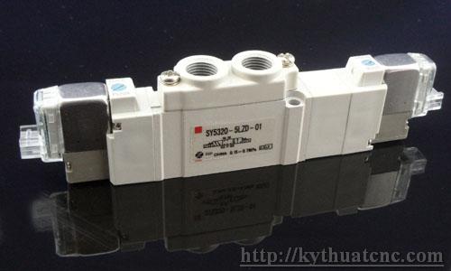 Hãng sản xuất : SMC   Xuất xứ : Japan   Điện áp : 24VDC   Thiết kế :5 cổng 2 vị trí 1 coil – 24V – 1/8″