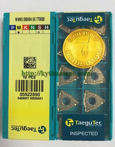Hãng sản xuất : Taegutec   Xuất xứ : Korea   Ứng dụng : Phá thô, gia công tổng quát   Vật liệu gia công : Vật liệu khó gia công như Inox, inconel   Thiết kế : Carbide insert